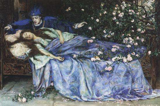 Henry_Meynell_Rheam_-_Sleeping_Beauty