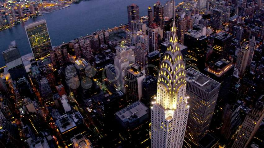 aerial-night-view-of-chrysler-building